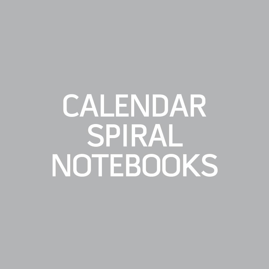Calendar Spiral Notebook