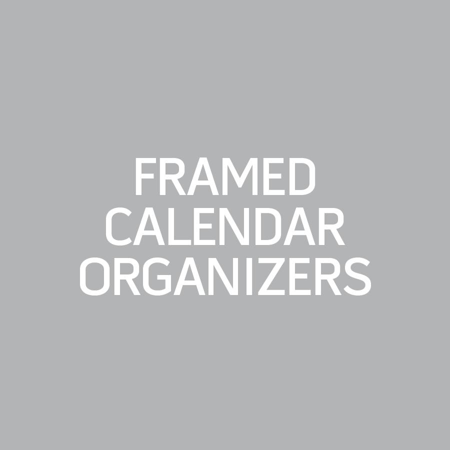 Framed Calendar Organizer