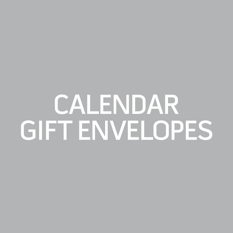Calendar Gift Envelope