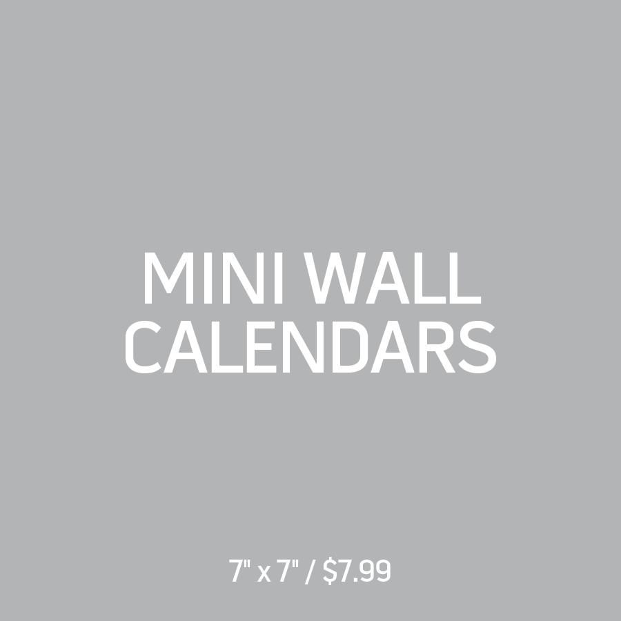 Mini Wall Calendars