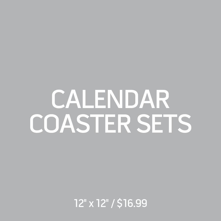 Calendar Coaster Sets