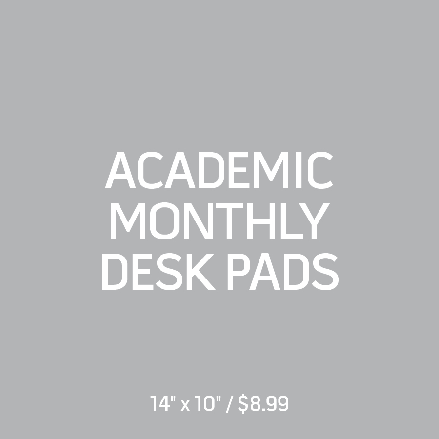 Academic Monthly Desk Pads
