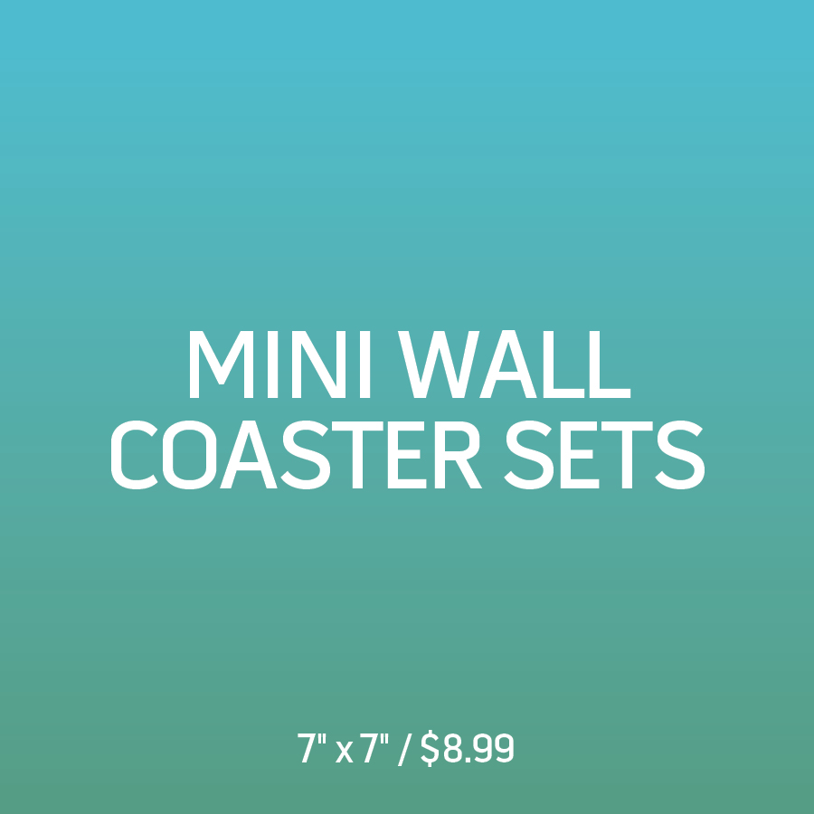 Mini 7x7 Coaster