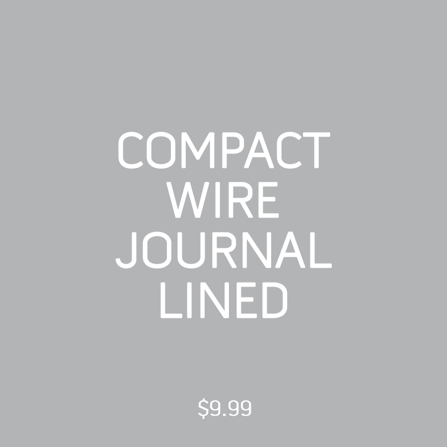 Compact Wire Journal Lined